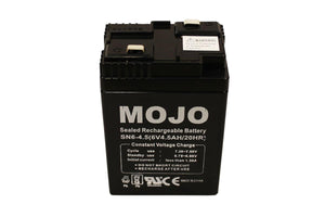 MOJO HW2466 King Mallard Replacement 6Volt Recharge Duck Decoy Battery