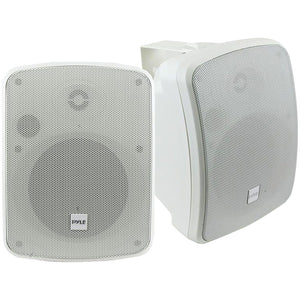 "Pyle PDWR54BTW 5.25"" Indoor/Outdoor 600-Watt Bluetooth Speaker System (White)"