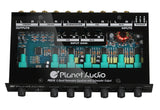 Planet Audio PEQ15 5 Band Equalizer Aux input volume control half DIN chassis