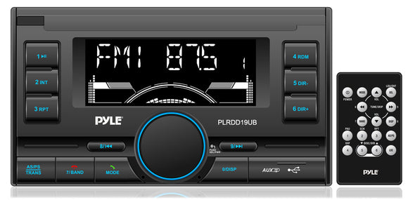 Pyle PLRDD19UB Mechless Double DIN Stereo