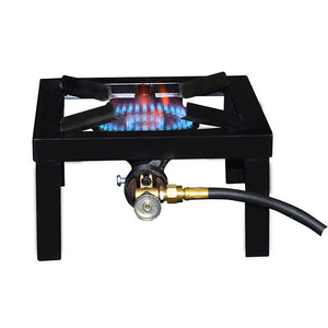 Base Camp F235825 1 Burner Angle Iron Stove 15000 BTU
