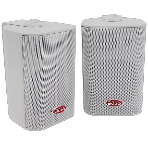 Boss MR43W 3-Way Indoor/Outdoor Speaker 200W White