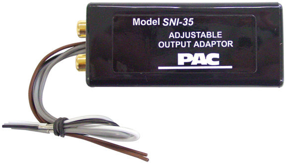 PAC SNI35 Adjustable Line Output Converter
