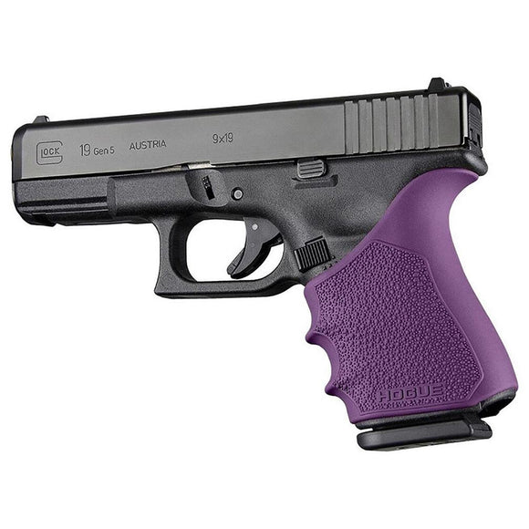 Hogue 17056 Handall Beavertail Grip Sleeve Glock 19 23 32 38 Gen 1-2-5 Purple
