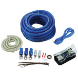 Bullz BGE4BB Audio 4 Gauge Amplifier Wiring Kit