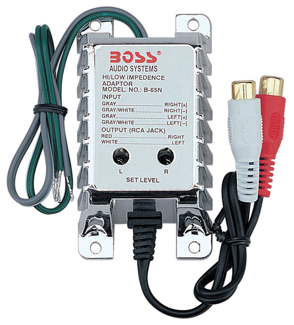BOSS B65N High Level to low level converter