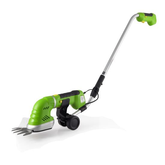 SereneLife PSLGR18 Cordless Electric Handheld Hedge Trimmer with Changeable