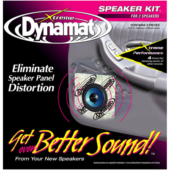 Dynamat XTREME 10415 1.4 SQ. FT. Speaker Kit 2 PCS 10