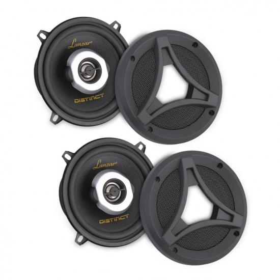 Lanzar DCT65.2 6.5-Inch 180 Watt 2-Way Coaxial Speaker Pair