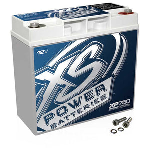 XS POWER XP750 750W 12V AGM BATTERY 22AH 750A MAX AMPS