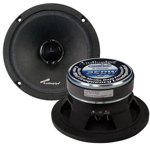 "AUDIOPIPE APMB-6 6"" 250W 8-Ohm Low/Mid Frequency Loudspeaker Speaker APMB6"