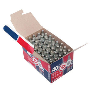 CROSMAN 23140 Powerlet 12g CO2 Cartridges 40 Count
