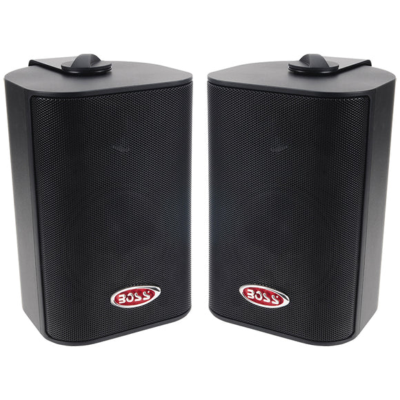 Boss MR43B 3-Way Indoor/Outdoor Speaker 200 Watt Black