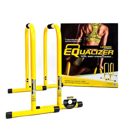 SPRI 771049 LFIEQYELLOW Lebert Equalizer Bars