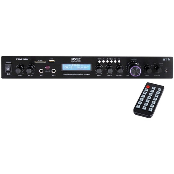 Pyle PDA7BU Home Theater Audio Receiver Sound System with Bluetooth