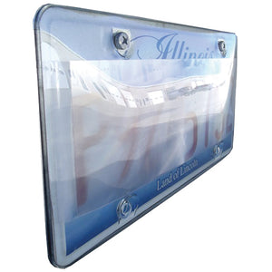 Street Vision Diffusional Photo Shield License Plate Cover (One cover per pack)