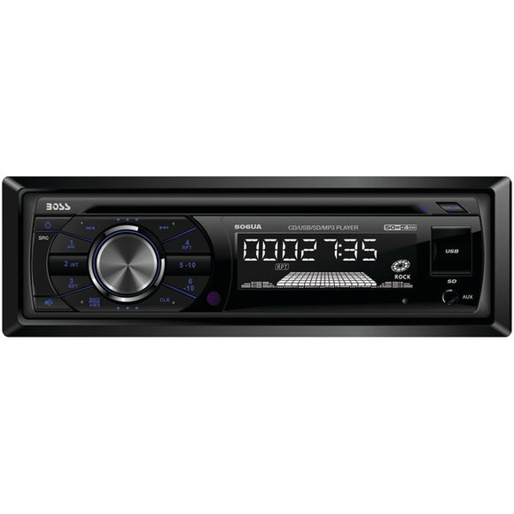 Boss Audio 506UA CD MP3 Receiver w/ USB SD Front Aux