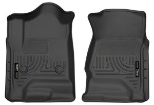 Husky 18231 Front Floor Liners For Select 14-18 Silverdo/Sierra/Escalade/Tahoe