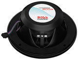 "Boss Audio MRGB65B 6.5"" 200 Watt 2 way Black Marine Speaker pair"
