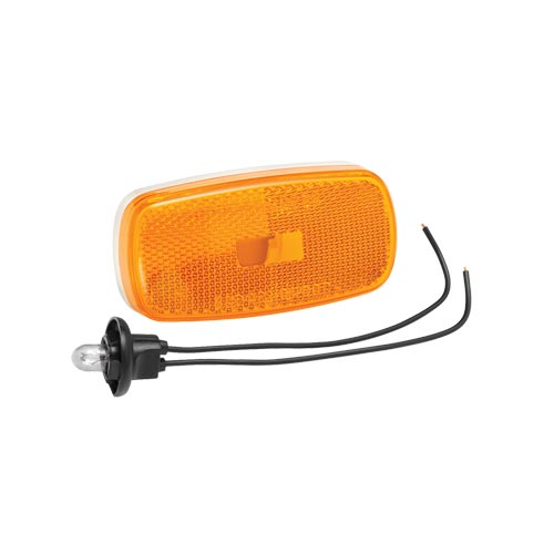 Bargman 3459012 Replacement Lens for 59 Series Clearance Light- Amber