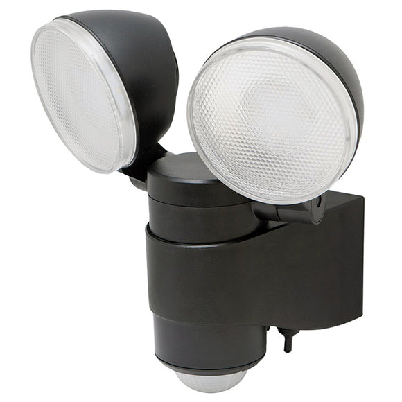 Maxsa 43218 BATTERY-POWERED MOTION-ACTIVATED DUAL HEAD LED SECURITY SPOTLIGHT