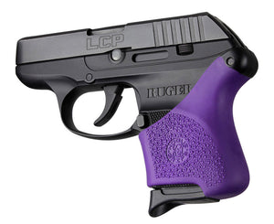 Hogue 18106 Hall Hybrid Ruger Lcp Grip Sleeve Purple