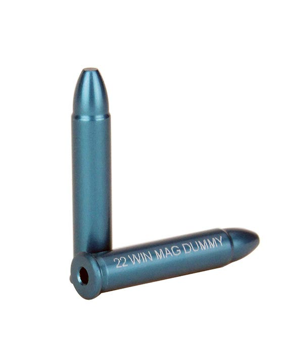 A-Zoom 12204 22 Win Mag Dummy Rounds  6 Pk