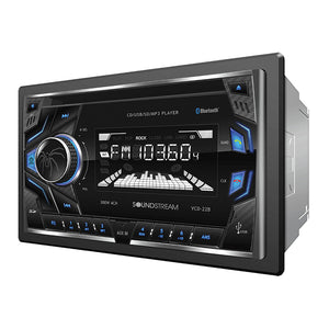 SoundStream VCD22B 2-DIN CD/MP3 Head Unit w/ 32GB USB SD AUX & Bluetooth