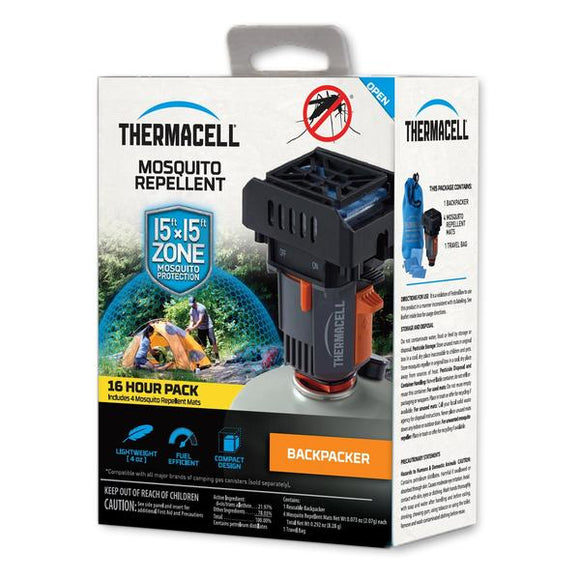 Thermacell Backpacker Mosquito Repeller 16 Hour Pack