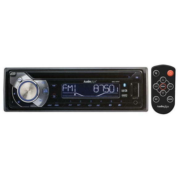 Audiopipe RAC107BT AM/FM/CD/USB/BT with Remote & sub out