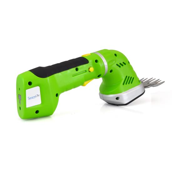 SereneLife PSLGR14 Cordless Handheld Shears/Hedge Trimmer with Changeable Blade