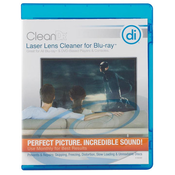 Digital Innovations 4190300 Clean Dr for BluRay Laser Lens Cleaner