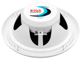 "BOSS AUDIO MR6W Marine 6.5"" Dual Cone 180-watt Full Range Speakers"