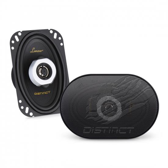 Lanzar DCT4.62 4 x 6 Inches 120-Watt 2-Way Coaxial Speaker Pair
