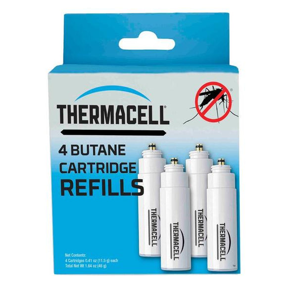 Thermacell C4T Fuel Cartridge Refills - 4 fuel cartridges each lasting 12 hours
