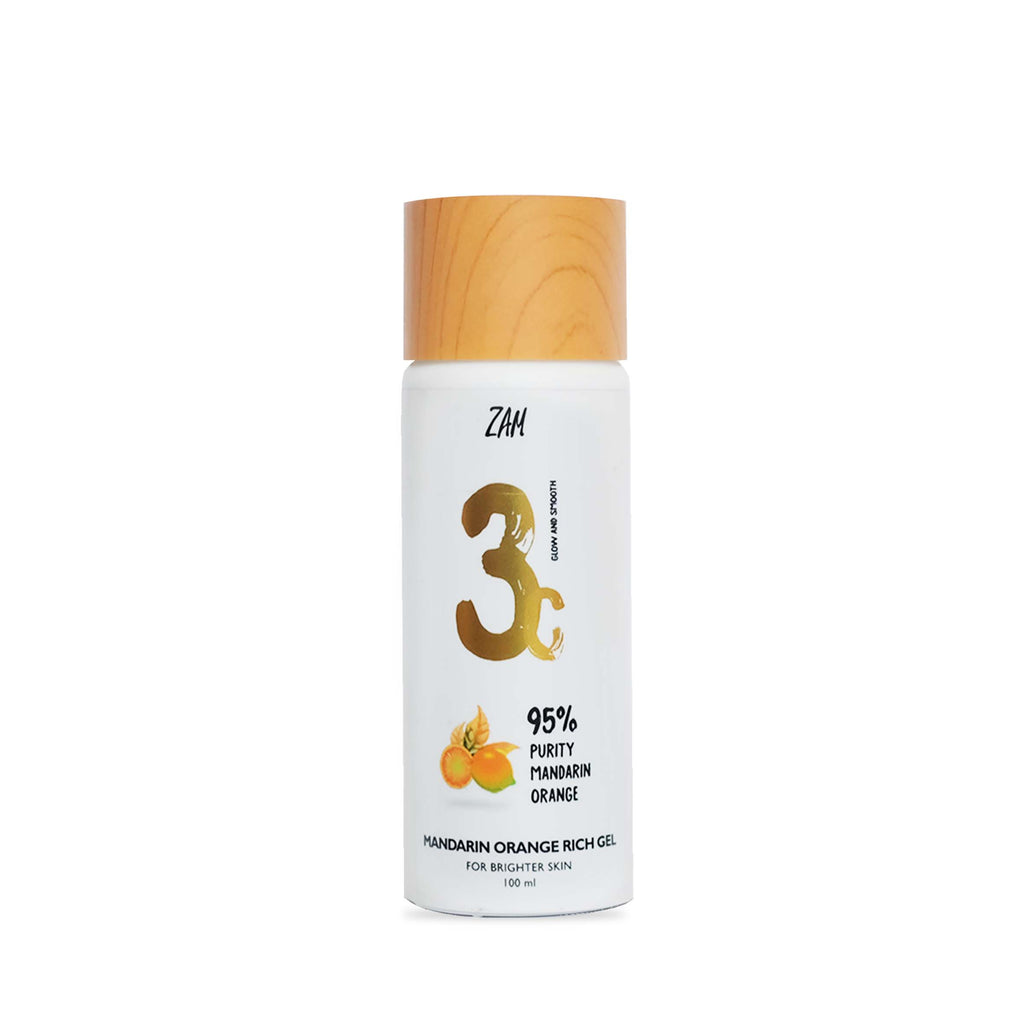 ZAM - MANDARIN ORANGE RICH GEL (For Brighter Skin)