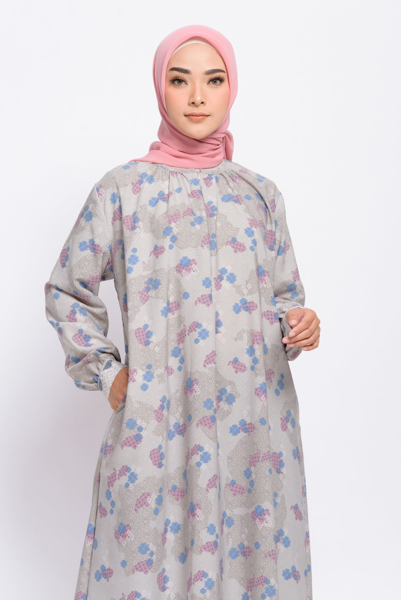 ZM - Gavia Grey Dress - Jelita Indonesia - Edisi Makassar