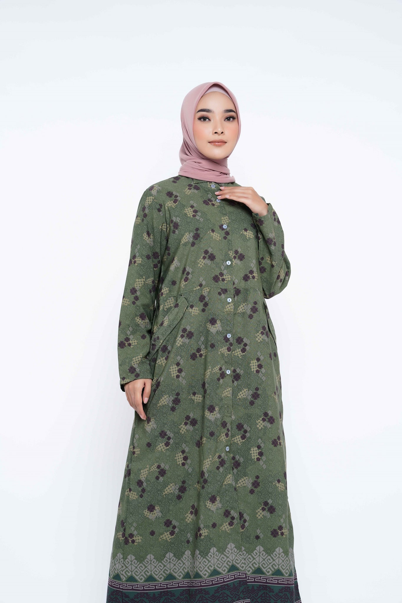 ZM - Halia Forest Dress - Jelita Indonesia - Edisi Makassar