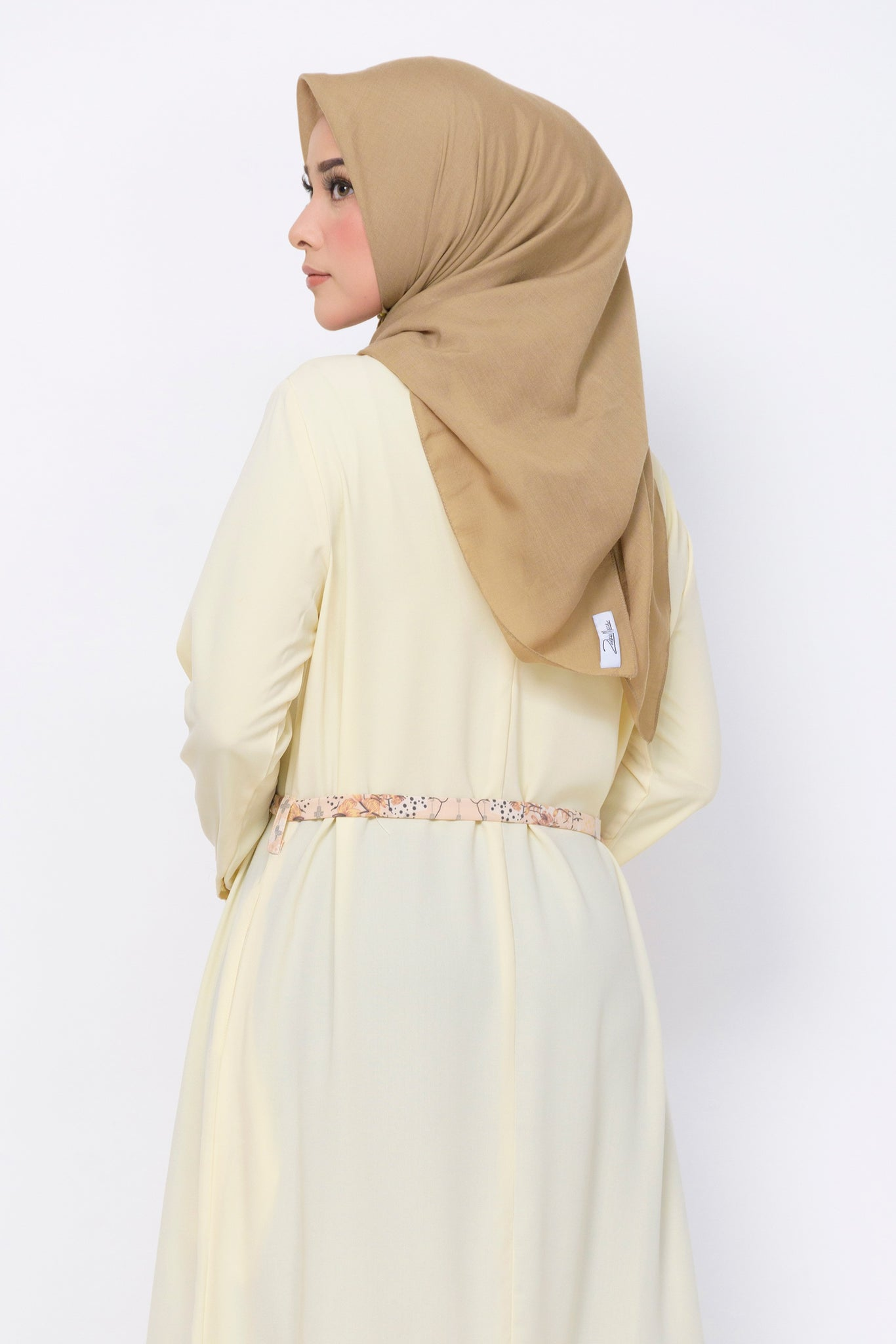 ZM - Kaici Cream Dress - Jelita Indonesia - Edisi Pulau Bangka