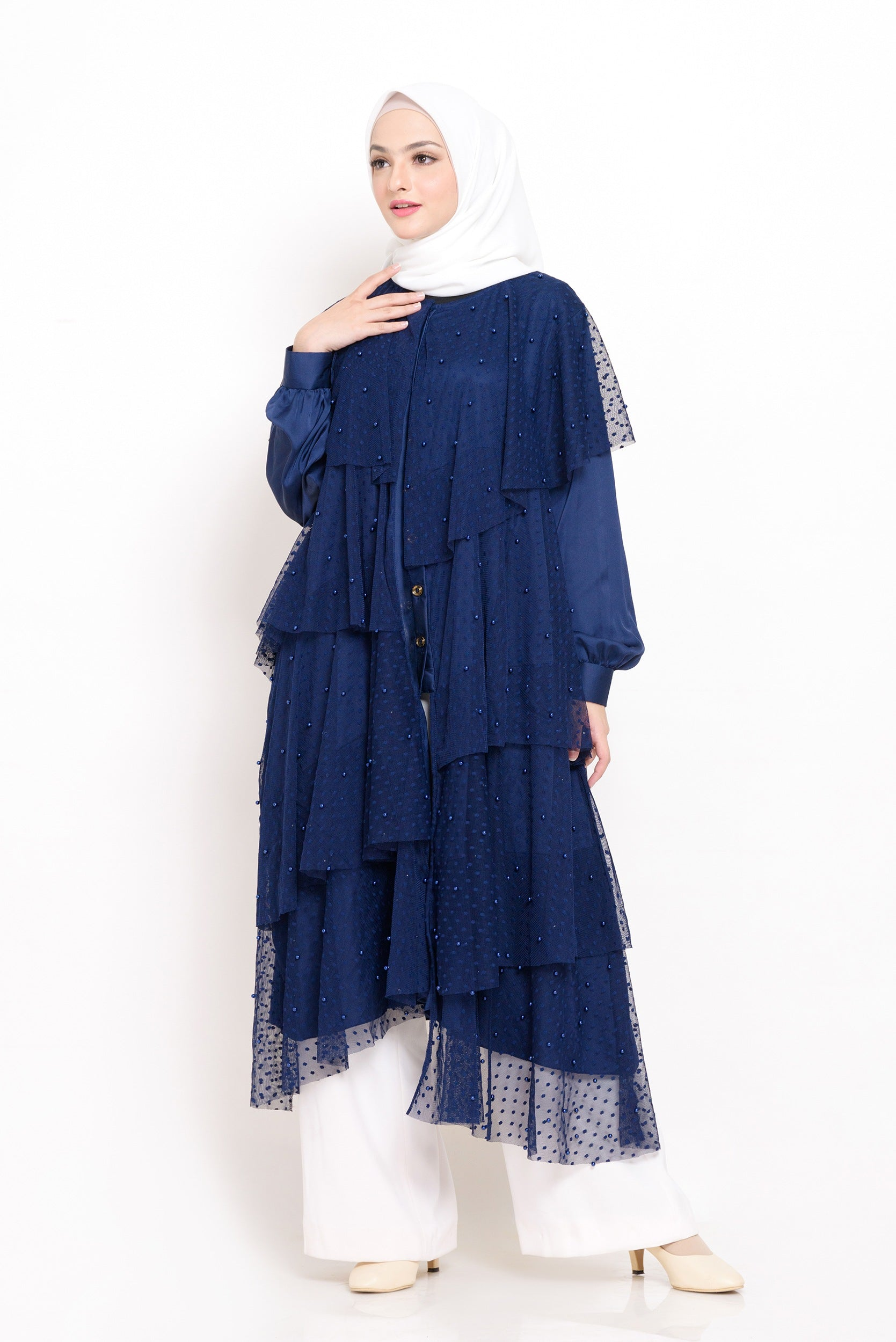 BIA By Zaskia Mecca - Ohara Navy Dress