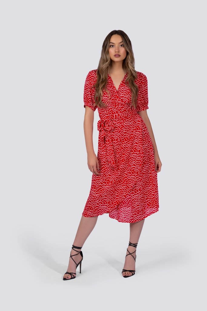 Poème Clothing Coco Wrap Dress