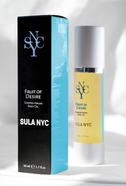 Fruit of Desire Argan Oil For the Body By Sula NYC
