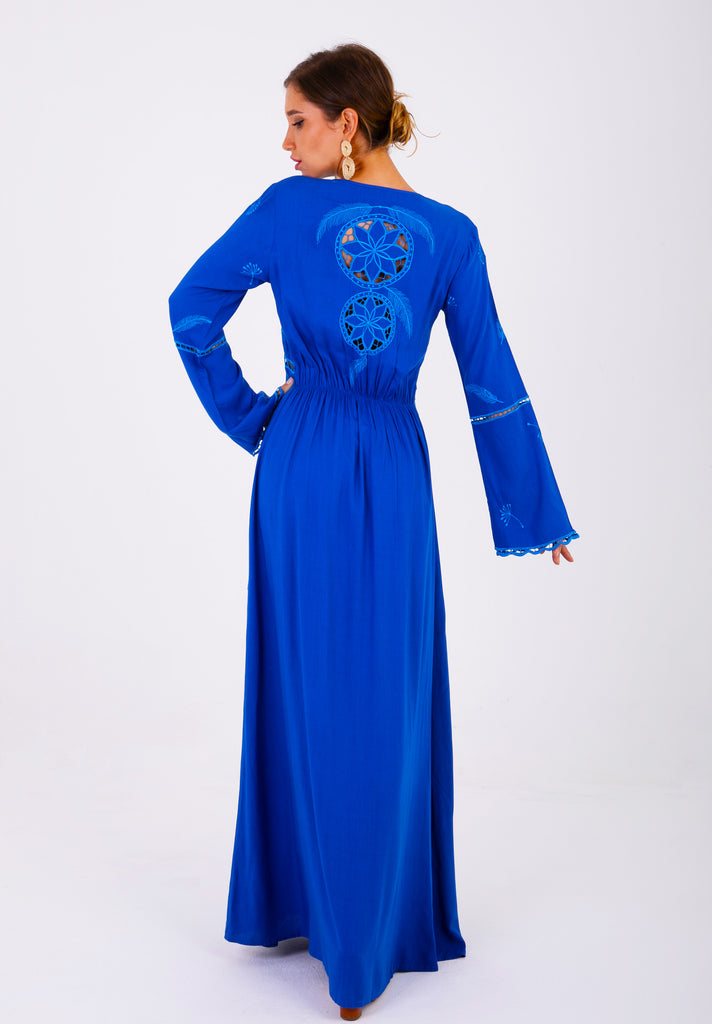 Zaimara Royal Blue Tunic