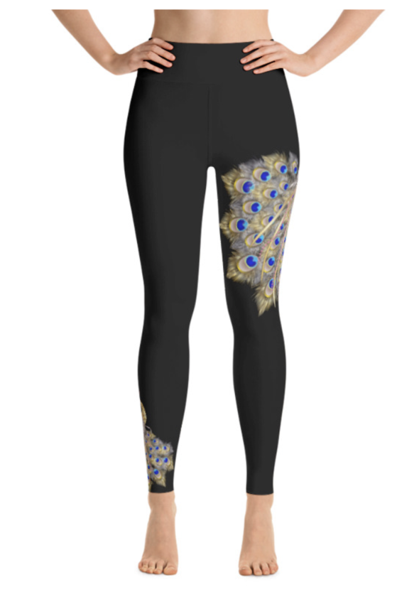 Sunia Yoga Leggings, Mayuarasana Design