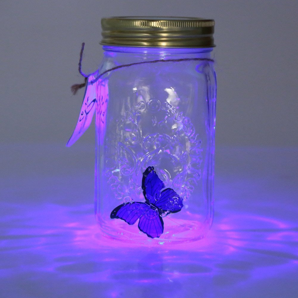 Butterfly In Jar Lamp