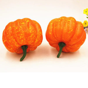 Small Halloween Artificial Pumpkin