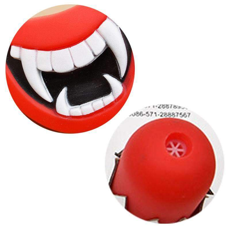 Pet Toys Halloween Teeth Pet Chew able Toy