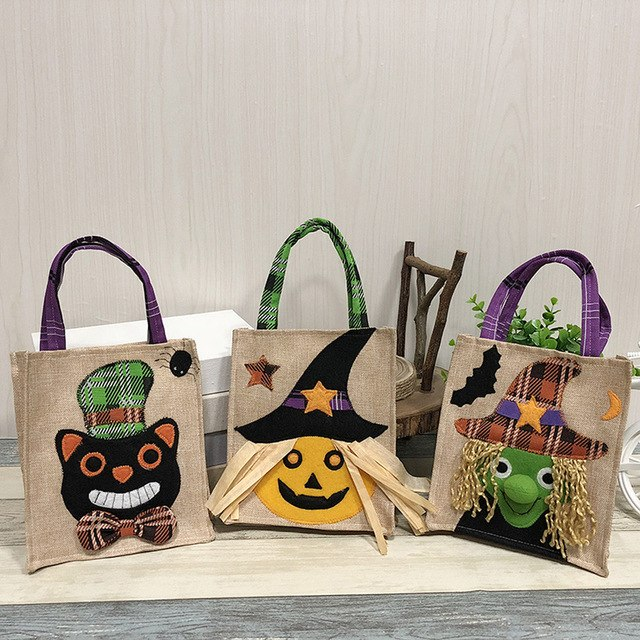 Cute Witches Candy Bag Packaging