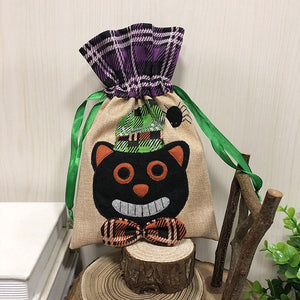 Halloween Cute Witches Candy Bag Packaging