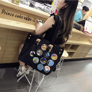 Embroidered Large Hand Bag 4224855625562